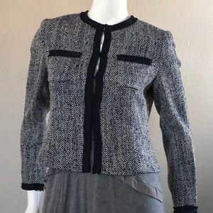 Brooks Brothers Tweed Cropped Blazer
